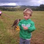 A fine young falconer